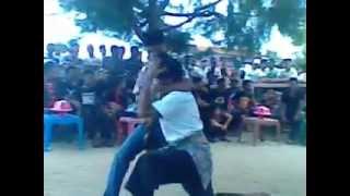 Duel Seni Bela Diri Suku Mandar Sulawesi Barat