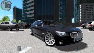 getlinkyoutube.com-City Car Driving 1.5.0 BMW 740d F01 [Logitech G27]