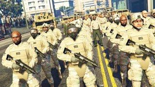 getlinkyoutube.com-GTA 5 PLAY AS A COP MOD - MARTIAL LAW!! MILITARY TAKEOVER Army Police Patrol!! (GTA 5 Mods Gameplay)
