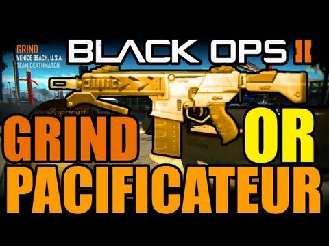 Pacificateur en OR gameplay sur Grind | Black ops 2 revolution | Call of duty gold peacekeeper