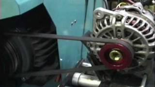 getlinkyoutube.com-ブラックオルタネーター と純正 オルタネーター の比較 RX-7 RX-8 AE86 RB26