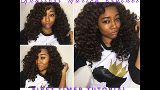 getlinkyoutube.com-Knotless Marley Crochet Braids [for first timers]