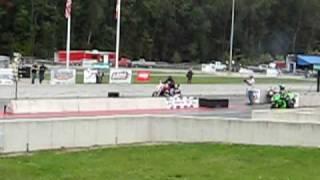 getlinkyoutube.com-Honda Magna 1/4 mile