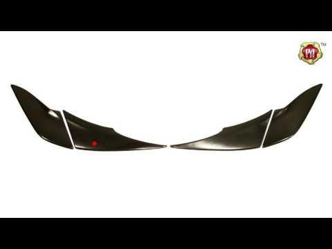 Накладки на задние фонари (Реснички) Toyota Rav4 (russ-artel.ru)