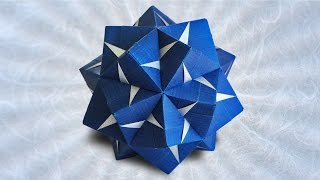 getlinkyoutube.com-Origami Fasett Sonobe Kusudama (Maria Sinayskaya)