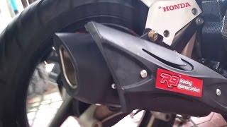 getlinkyoutube.com-Suara Mulus Knalpot R9 Misano Honda Vario 150 ESP