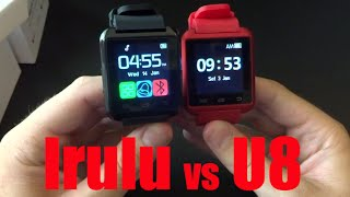 getlinkyoutube.com-U8 vs iRulu Smartwatch from eBay
