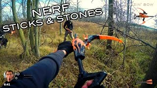 getlinkyoutube.com-Nerf meets Call of Duty: Sticks and Stones (First Person in 4K!)