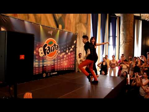 Fanta Salsa Fest 2012 - Johnny Vazquez & Jennifer Da Silva (Partnerwork On1)