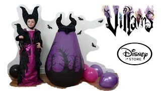 getlinkyoutube.com-Disney Villains Maleficent in real life Super Giant Surprise Egg Maleficent Witch Kids Video