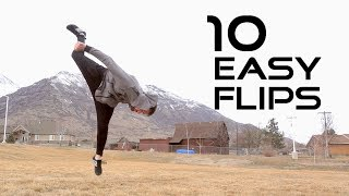 10 Flips Anyone Can Learn - Flip Progressions width=