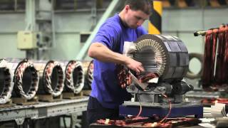 getlinkyoutube.com-TES generators and motors - Production of electric machines