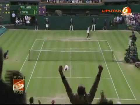 Petenis Wanita Serena Williams VS Sabine Lisicki (Wimbledon 2013)