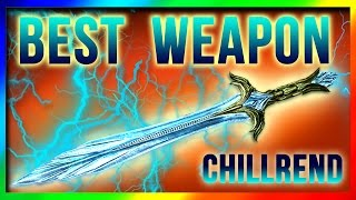getlinkyoutube.com-Skyrim Remastered BEST Weapon AT LEVEL ONE! Chillrend Sword Location (Special Edition Unique Weapons