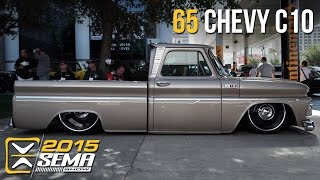 getlinkyoutube.com-SEMA 2015 | 1965 Chevy C10 | Tino Garza