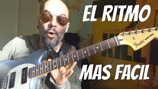 El RITMO más FÁCIL en GUITARRA | Tutorial POP