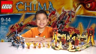 getlinkyoutube.com-FLYING PHOENIX FIRE TEMPLE - LEGO Legends of Chima Set 70146 Time-lapse Build, Unboxing & Review