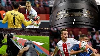 getlinkyoutube.com-Nikkor AF-S 200-500 mm f5.6E ED VR  - football TEST