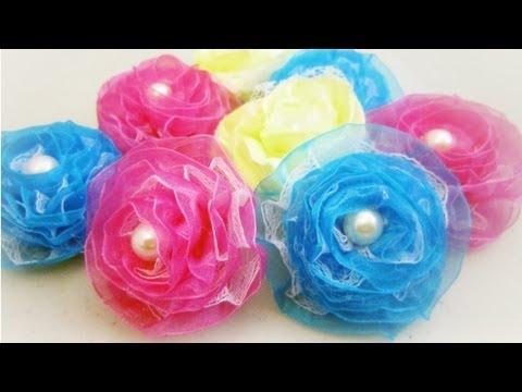 Episodio 631- Cómo hacer rosas con cinta de organza