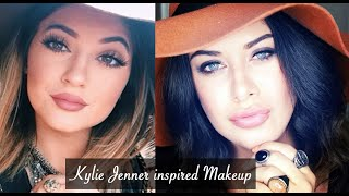 getlinkyoutube.com-Kylie Jenner inspired Makeup Tutorial