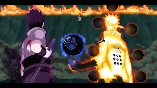 getlinkyoutube.com-Naruto Shippuuden「AMV」Naruto Sage of six Paths and Sasuke Rinnegan vs Rikudo Madara