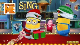 getlinkyoutube.com-Despicable Me Minion Rush New Special Mission Piggy Power! Musical Notes, Microphones, and Vinyl