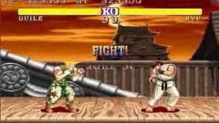 getlinkyoutube.com-Street Fighter II Guile All Perfect 1/2