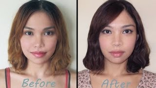 getlinkyoutube.com-How to Dye Light Hair Dark