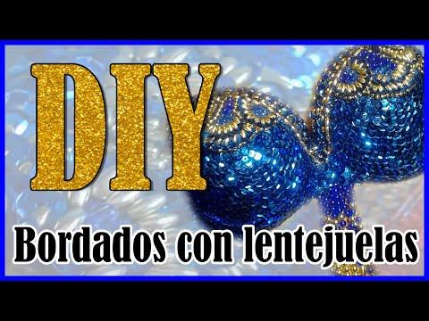 DIY-Como bordar con lentejuelas I