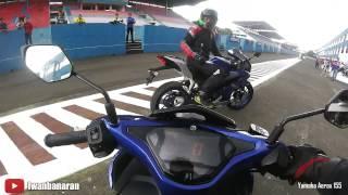 getlinkyoutube.com-Yamaha Aerox 155 Sentul | Top speed 111 km/jam (by Iwanbanaran)