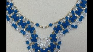 getlinkyoutube.com-Crystal Diamonds Necklace Tutorial