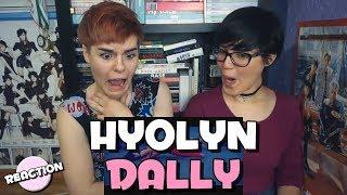 HYOLYN (효린) - DALLY (달리) (FEAT. GRAY) ★ MV REACTION