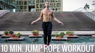 getlinkyoutube.com-10-Minute Jump Rope Workout