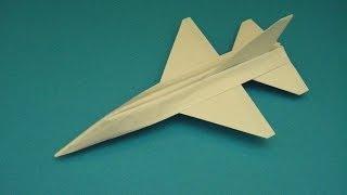 getlinkyoutube.com-Flyable Origami F-16 Falcon Tutorial  By: Ken Hmoob