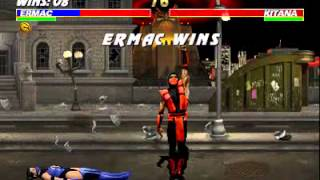 getlinkyoutube.com-Ultimate Mortal Kombat 3 - Ermac Arcade Very Hard - SlayerValdes