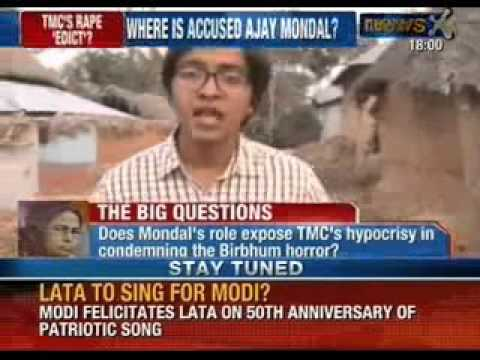 Trinamool's worker Ajay Mondal part of Kangaroo court. Ordered West Bengal tribal girl gang rape.