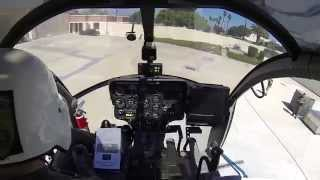 GoPro cockpit video of helicopter air show demo with ATC audio (Edited)