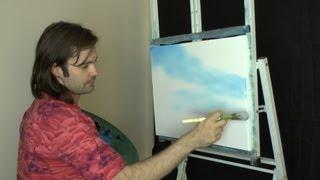 getlinkyoutube.com-Australian Sky - Painting Lesson