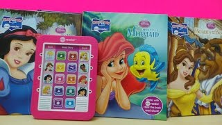 getlinkyoutube.com-DISNEY PRINCESS ELECTRONIC ME READER TABLET COMPUTER TOY TO HELP LEARN ENGLISH