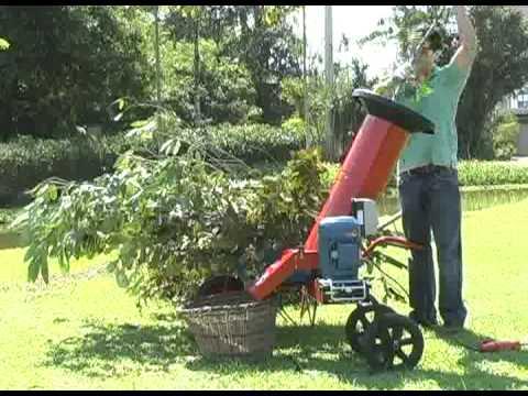 Triturador de Galhos Verdes CID