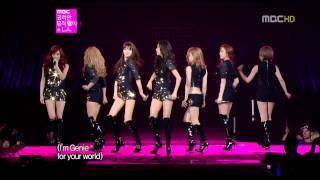 getlinkyoutube.com-[1080HD] 20120719 SNSD/소녀시대 GENIE - Live Korean Music Wave in LA