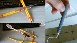 getlinkyoutube.com-3 DIY Weapons For Office Warfare!