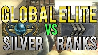 getlinkyoutube.com-CS:GO - Global Elite vs Silver Ranks