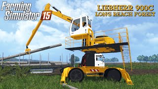 getlinkyoutube.com-Farming Simulator 2015 mod LIEBHERR 900C LONG REACH FOREST