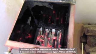 Котел Холмова Украина. Топливные брикеты.