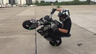 getlinkyoutube.com-Dark Knight Street with Kawasaki Z125