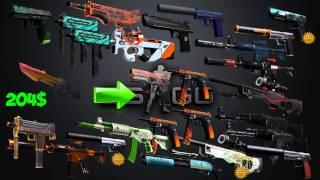 getlinkyoutube.com-CS:GO с ширпотреба до НОЖА!!! #26 M9 Fade 100%