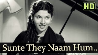 getlinkyoutube.com-Sunte The Naam Ham Jinka - Raj Kapoor - Aah - Vijayalaxmi - Lata Mangeshkar - Evergreen Hindi Songs