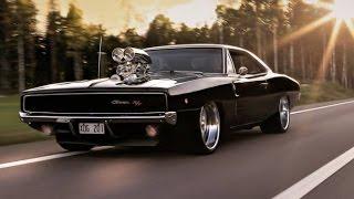 getlinkyoutube.com-Dodge Charger Burnout