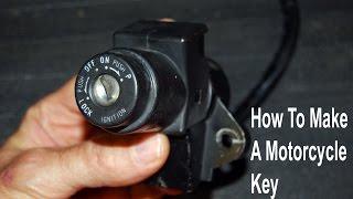 getlinkyoutube.com-How to Make a Working Motorcycle Key